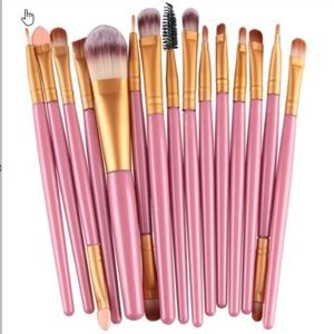 ✨15 Piece Make Up Brush Set